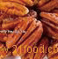 Roasted pecans nuts