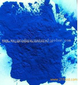 spirulina blue , milk tea using colorant