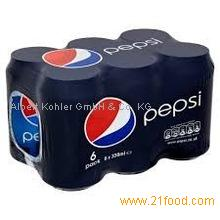 Pepsi Cola Can 330ml