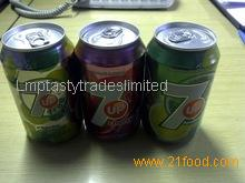 7up, 7up Cherry, 7up Sugar Free