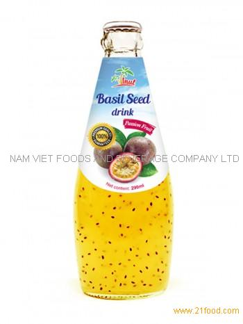Basil Seed Drink Passion Fruit