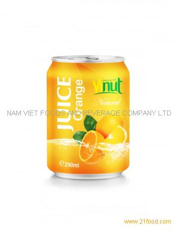 250ml Natural Orange Juice