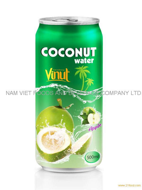500ml Apple flavored coconut water