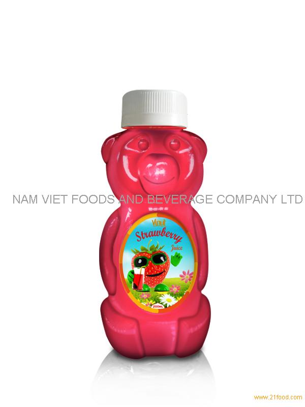 200ml Strawberry Juice for children