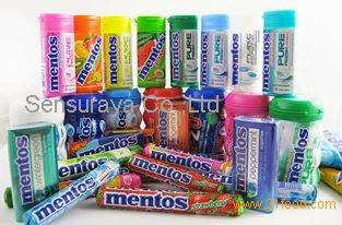 MENTOS GUM ICE FLURRY