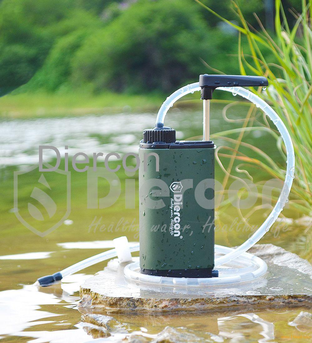 Diercon outdoor water filter personal water purifier (TW01 ...
