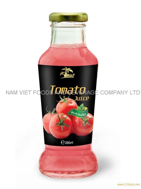 280ml Glass bottle Tomato Juice
