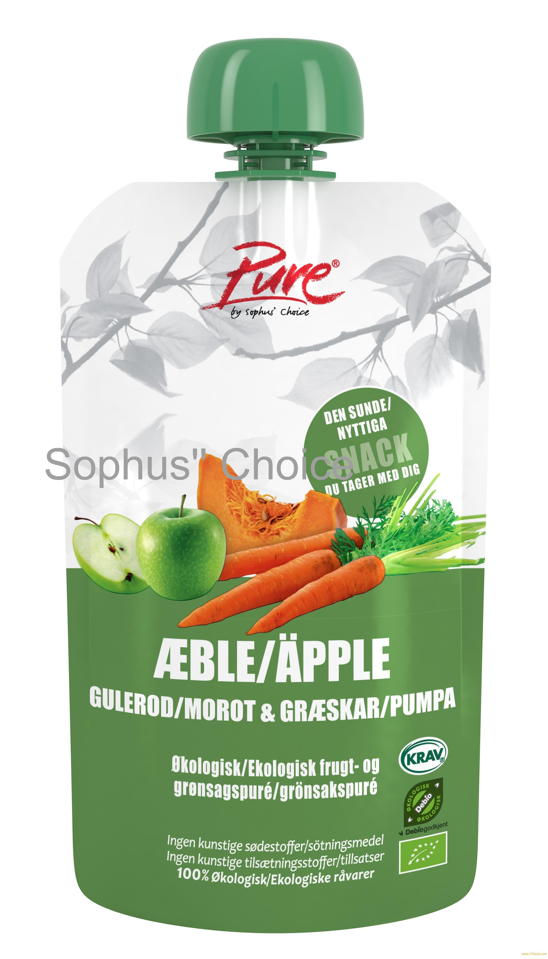 Pure Apple, Carrot & Pumpkin
