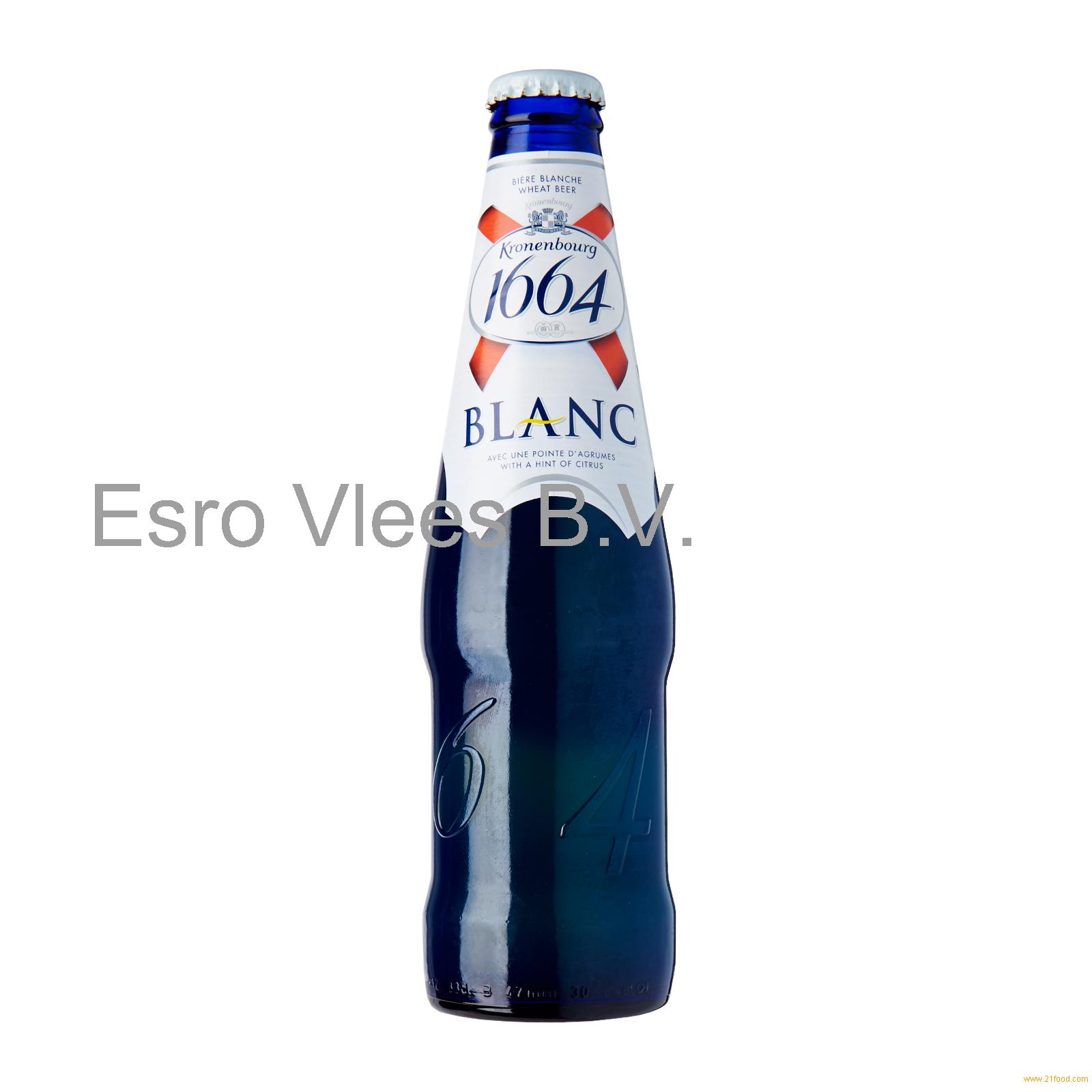 KRONENBOURG 1664 BLANC BEER 330ml BLUE BOTTLES