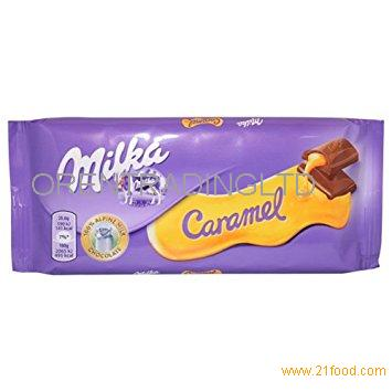 Caramel milka for sale