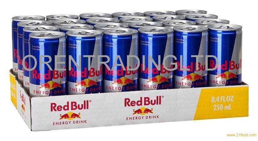 Premium Quality Red Bull Energy Drink