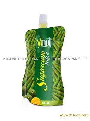 Supplier sugarcan juice in Bag 100ml