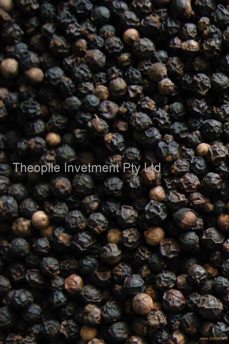 Dried black Pepper 500gl for sale