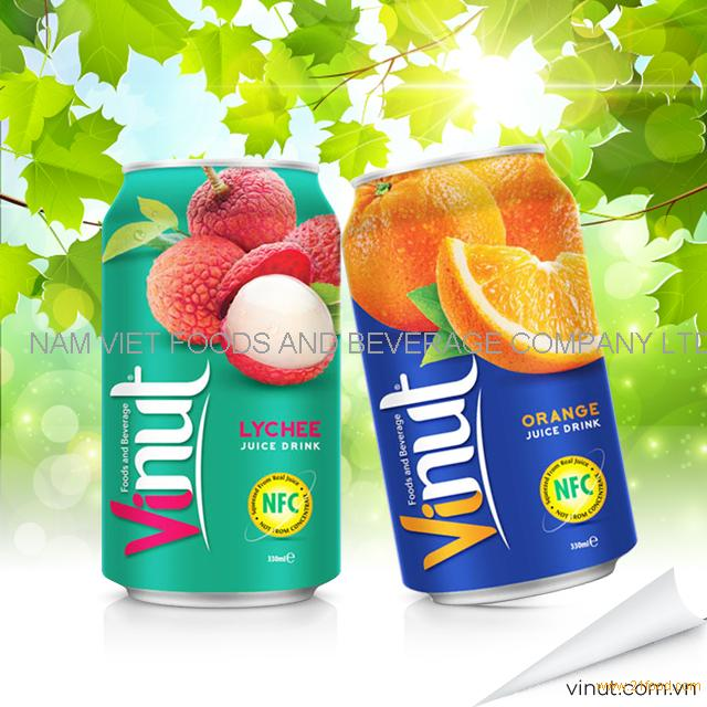 VINUT natural tropical fruit juice