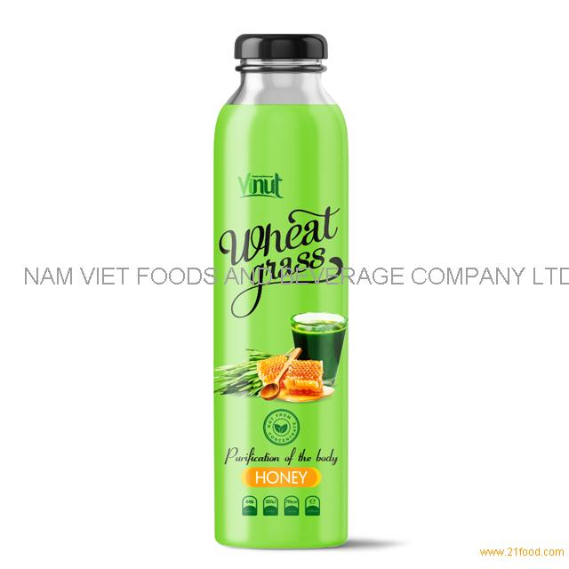300ml Bottle Wheatgrass juice with Lime & Mint flavour