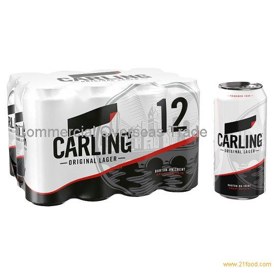 Fresh Produced Carling Beer on sale, 30% discount (Cans / Bottle)