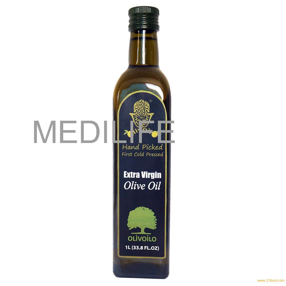 Extra Virgin Olive Oil, 1L Marasca Bottle. ISO certified. Healthy and beneficial. 100% Tunisian