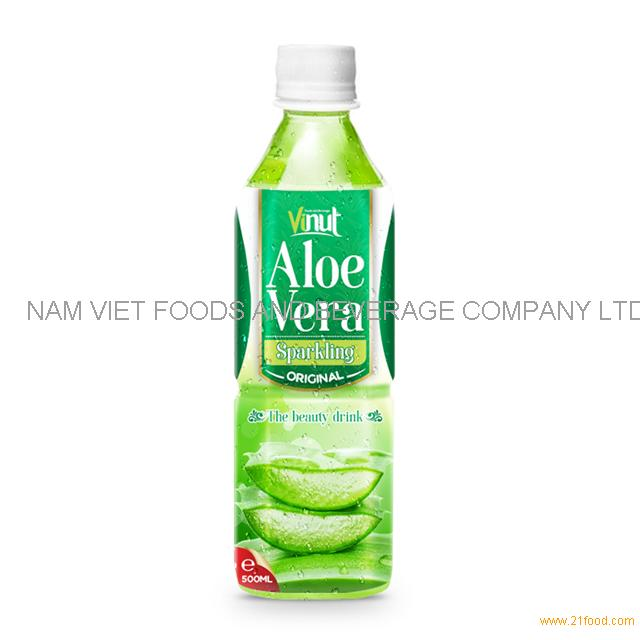 500ml Original Bottle Aloe Vera Drink Sparkling