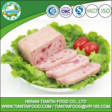new premium canned food canned pork ham