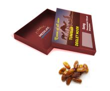 Processed Pitted Dates Deglet Nour, High quality Tunisian Dates 500 gr Tray