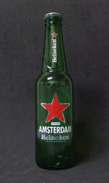 Cold and fresh Heineken beer b/v