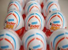 KINDER JOY , KINDER SURPRISE AND BUENO