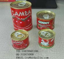 Fresh vegetables canned tomato paste concentrated 28-30%