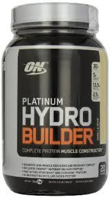 FOR SALE !!! Optimum Nutrition Platinum Hydrobuilder Vanilla