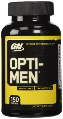 Optimum Nutrition Opti-men Multivitamins, 150 Tablets