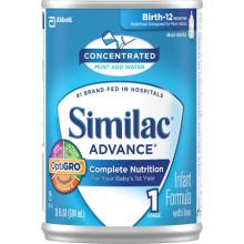 Similac Complete Nutrition Milk Concentrated Infant Formula 13 FL OZ CAN