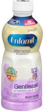 Enfamil Gentlease Infant Formula, Milk-Based with Iron, Ready to Use, Through 12 Months - 32 fl oz