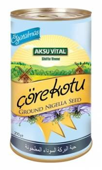 Ground Black Seed 200 gr Health Food Habbatus Sauda Nigella Sativa Slimming Breakfast Cereal Product