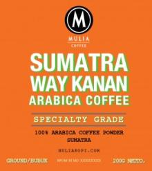 Sumatra Way kanan Roasted Bean 500g