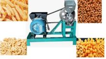 Grain Bulking Puff Snack Food Extruder Making Machine