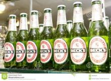 Becks alcoholic and non alcoholic drinks