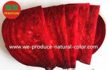 beet root red natural color