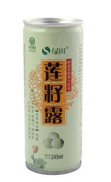SACRED LOTUS SEED JUICE DRINK 245ml/tin, 20tins/CTN