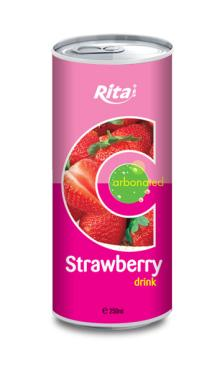 250ml Carbonated Strawberry Juice