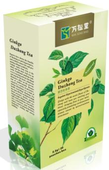 DuZhong Herbal Tea-Blood Pressure Reducing Tea for Hypertension People
