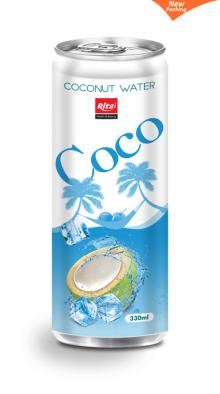 Coconut water 330ml slim can