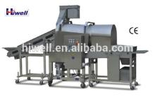 Hamburger Nuggets Fish And Chicken Drum Breader Machine GFJ600-IV