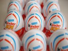 Kinder suprise egg chocolate with funny toy