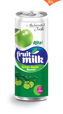 Green apple milk 330ml