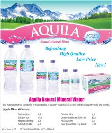 Aquila Mineral Water