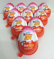 Original Ferrero Kinder Surprise, Kinder Joy, Kinder Buenos, Chocolate