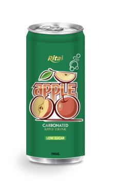 250ml Low sugar Carbonated Apple Drink