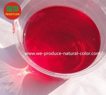 pickled or salted vegetable using colorant