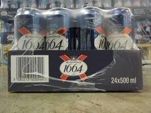 Kronenbourg 1664 5% can 24 x 500ml, 330ml (Blue)