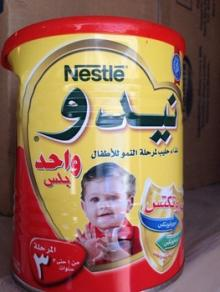 Red Cap Nido Milk Powder Arabic and EnglishText