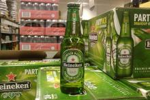 HEINEKEN BEER BREWED AND BOTTLED in THE NETHERLANDS